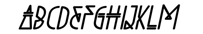 Niewe-BoldItalic Font UPPERCASE