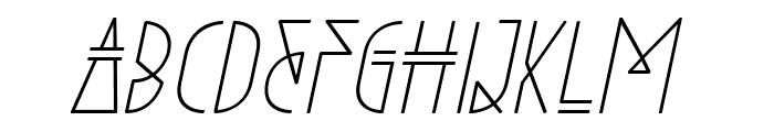 Niewe-Italic Font LOWERCASE