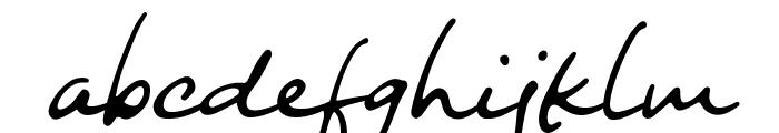 Night Wind Sent Sample Font LOWERCASE