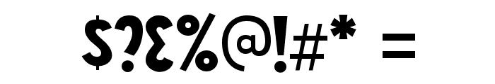 NightCourt-Regular Font OTHER CHARS