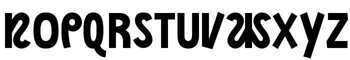 NightCourt-Regular Font UPPERCASE