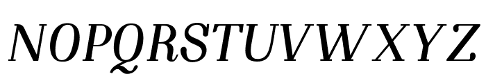 NightStillComes-BoldItalic Font UPPERCASE