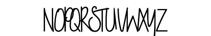 NightWork Font UPPERCASE