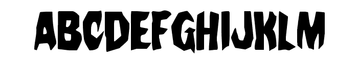 Nightchilde Condensed Font UPPERCASE