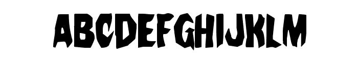 Nightchilde Condensed Font LOWERCASE
