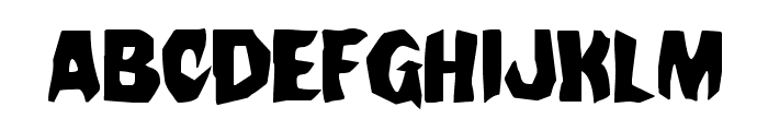 Nightchilde Regular Font LOWERCASE