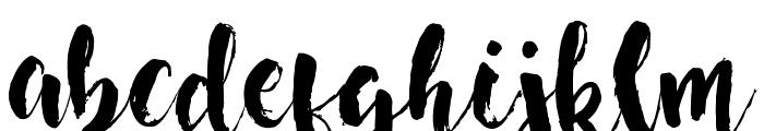 Nightingale Font LOWERCASE