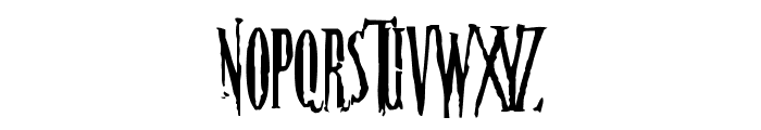 Nightmare-5 Font UPPERCASE