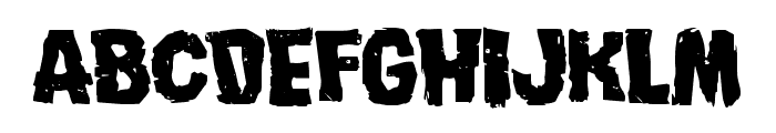 Nightmare Alley Expanded Font UPPERCASE