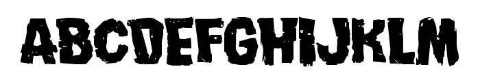 Nightmare Alley Expanded Font LOWERCASE
