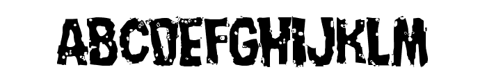 Nightmare Alley Light Font LOWERCASE