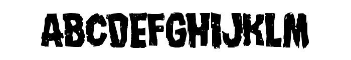 Nightmare Alley Font LOWERCASE