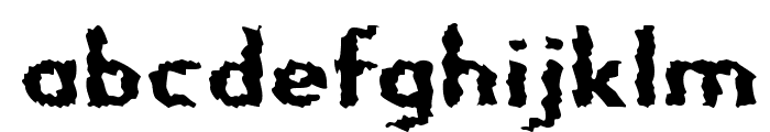 Nightporter-Regular Font LOWERCASE