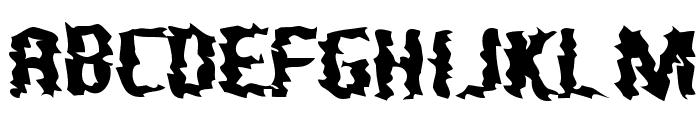 Nightporter Font UPPERCASE