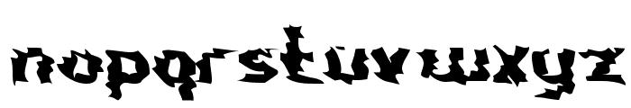Nightporter Font LOWERCASE