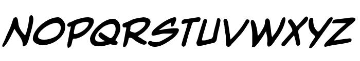 Nightwatcher BB Bold Font UPPERCASE