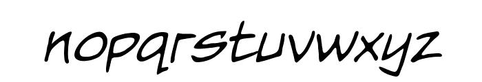 Nightwatcher BB Italic Font LOWERCASE