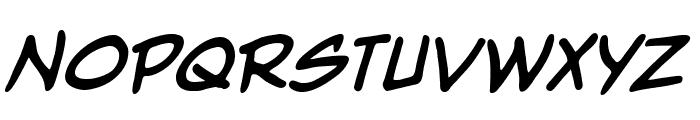 NightwatcherBB-Bold Font UPPERCASE