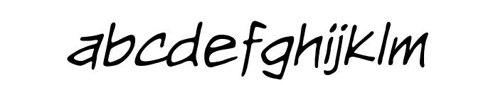 NightwatcherBB-Italic Font LOWERCASE