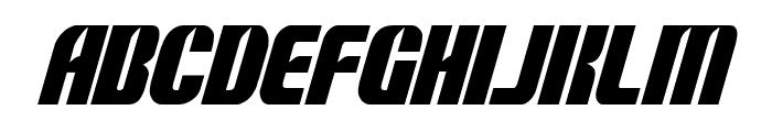 Nightwraith Condensed Italic Font LOWERCASE