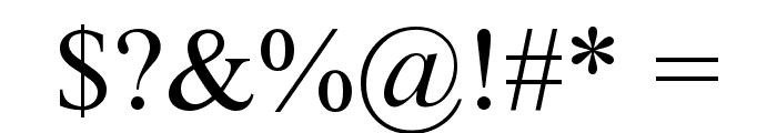 Niharika Font OTHER CHARS