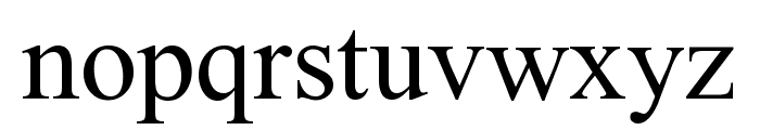 Niharika Font LOWERCASE