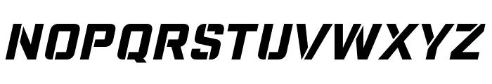 Nike Combat Stencil Font UPPERCASE