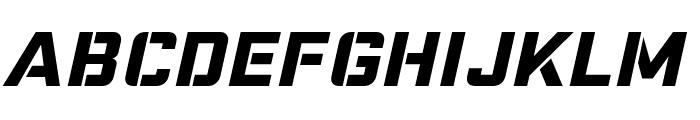 Nike Combat Stencil Font LOWERCASE