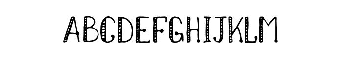 NikolaidisHand Font UPPERCASE