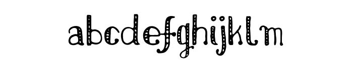 NikolaidisHand Font LOWERCASE