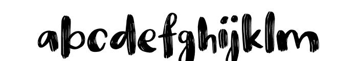 Nikotinus DEMO Regular Font LOWERCASE
