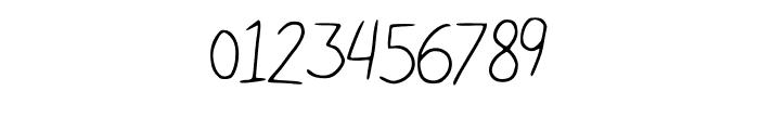 Nikukurin_s_handwriting Font OTHER CHARS