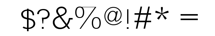 Nilland-SmallCaps Font OTHER CHARS