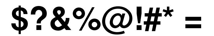 NimbusSanL-Bol Font OTHER CHARS