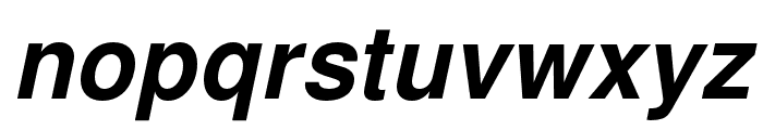 NimbusSanL-BolIta Font LOWERCASE