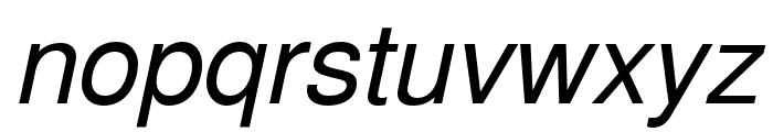 NimbusSanL-RegIta Font LOWERCASE