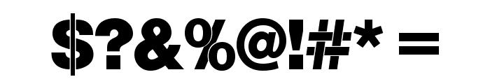 Nimbus_Sans_Becker_PBla Font OTHER CHARS