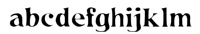 NineHundredPfui Font LOWERCASE