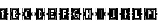 Nineteen Ten Vienna - Extras Font LOWERCASE