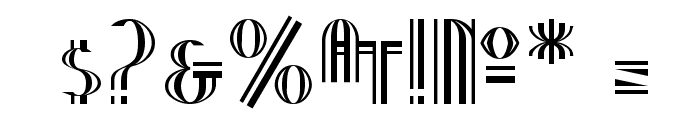 Nineteen Ten Vienna Font OTHER CHARS