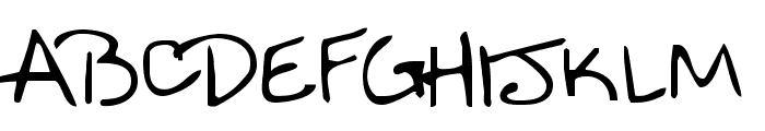 Nineteen Font UPPERCASE