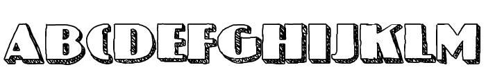 NineteenOhFive Font UPPERCASE