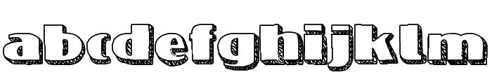 NineteenOhFive Font LOWERCASE