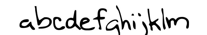 Nineteen Font LOWERCASE