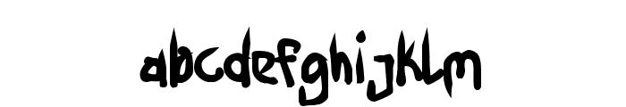 Ninja Penguin Font LOWERCASE