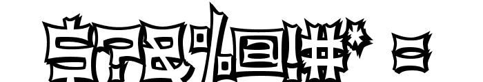 NinjaLine Font OTHER CHARS