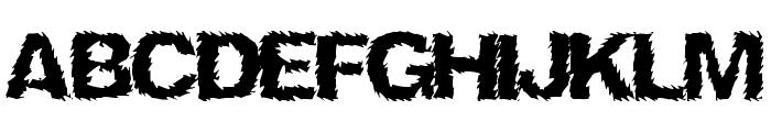 NinjaTurtle Font UPPERCASE