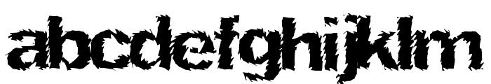 NinjaTurtle Font LOWERCASE