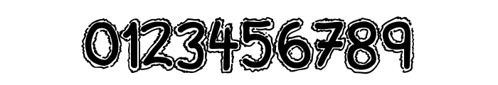 Ninjascript Electric DemiBold Font OTHER CHARS
