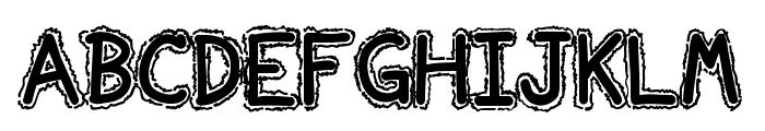 Ninjascript Electric DemiBold Font UPPERCASE